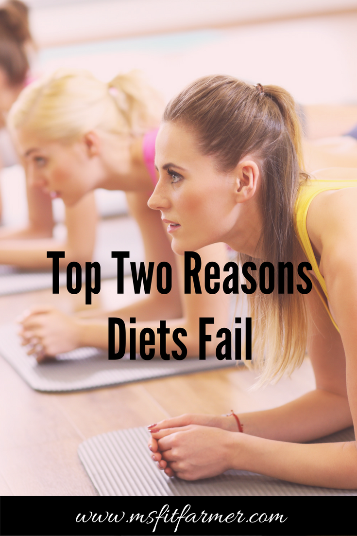 The Truth About Weight Loss & Why Diets Fail | Health, Fitness, Wellness | More at https://msfitfarmer.com