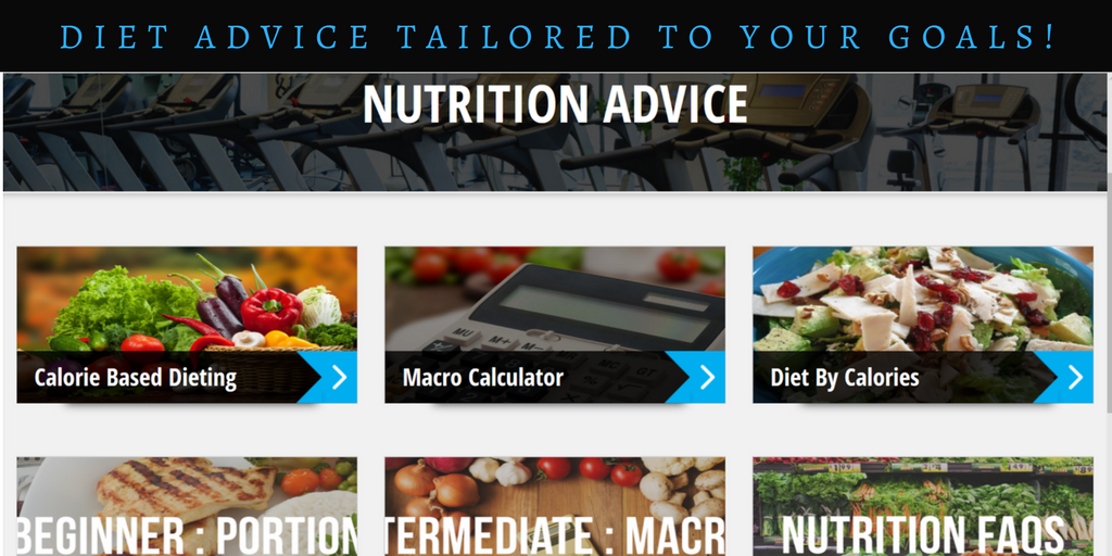nutrition advice and meal plans