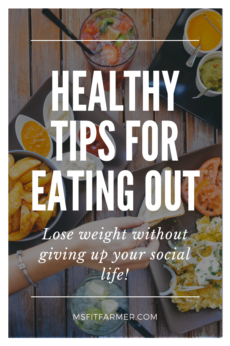 Healthy living shouldn\'t keep you from enjoying life. In this blog post, I give you the 5 Best Practices for Eating Out While Still Losing Weight. Don\'t let your diet be the reason you give up your social life. You can enjoy restaurant-style meals while losing weight + reducing cravings. More importantly, these 5 Tips are simple enough for any women to execute in her own life- no willpower required!