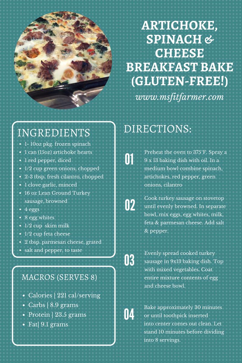 Healthy Protein Breakfast Bake