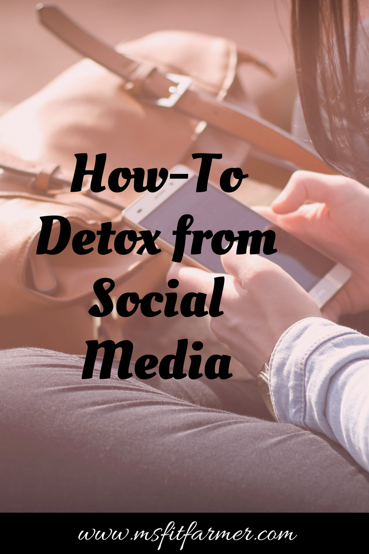 The Importance of Taking a Digital Detox | Health, Fitness and Wellness | More at https://msfitfarmer.com