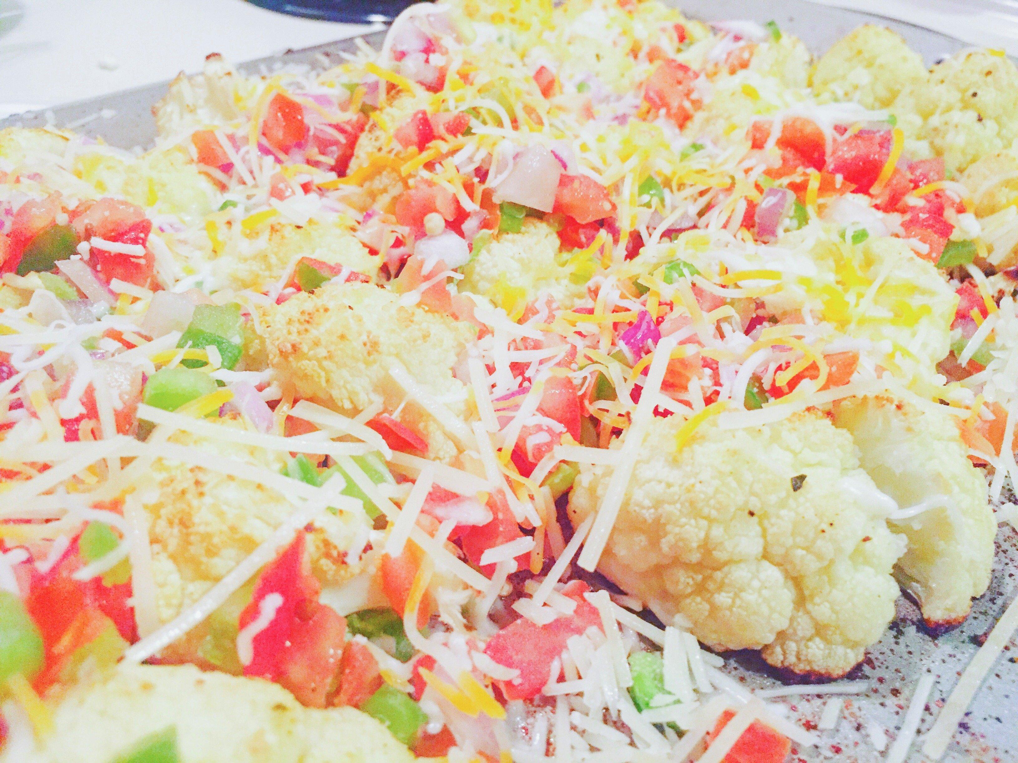 The Best Healthy Cauliflower Nacho Recipe