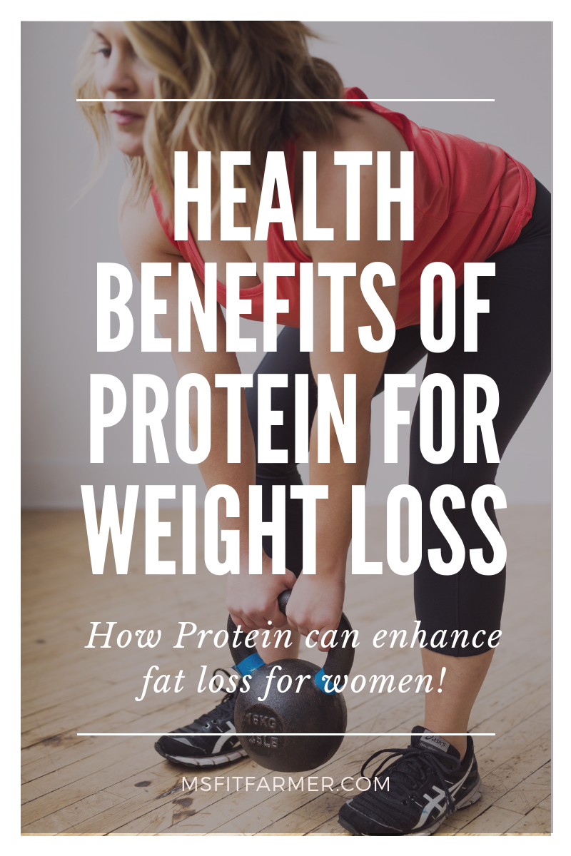 Health Benefits of Protein for Women's Weight Loss