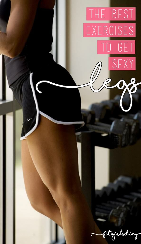 Fit Girl's Diary Sexy Leg Training Routine