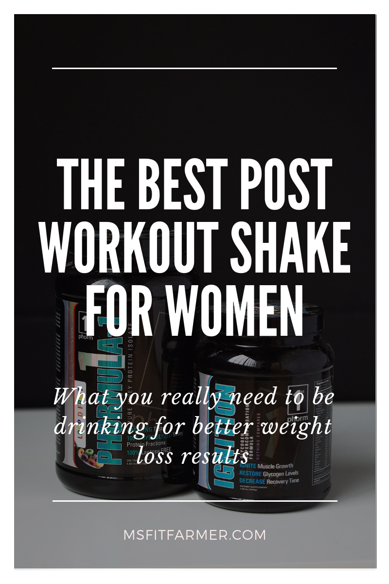 Post Workout Supplements For Women 2 Ms Fit Farmer