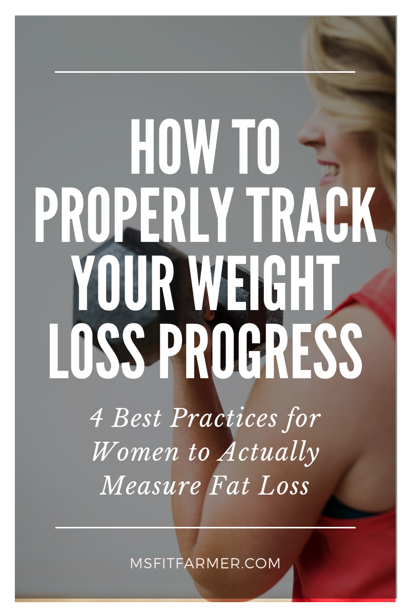 How to BEST Track Your Weight Loss Progress