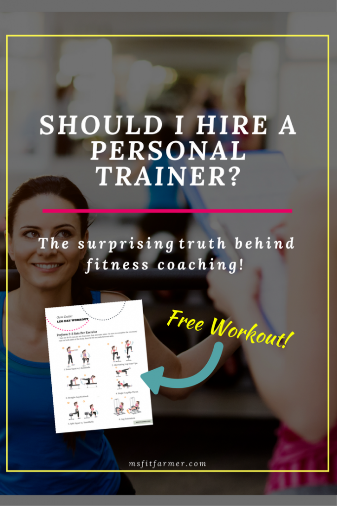 Personal Trainers   Why You Should Hire a Personal Trainer   Advantages to Using Fitness Professional   Online Fitness Coaching   More Health and Fitness at msfitfarmer.com