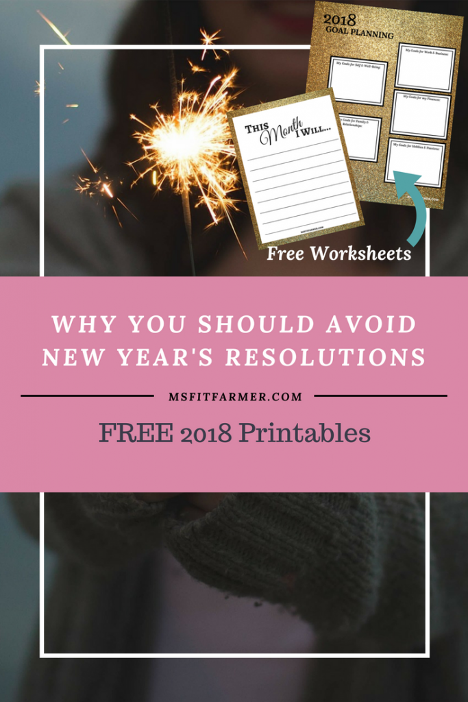 New Year's Resolution | Goal Setting | Smart Goals | Weight Loss | Lose Weight Fast | Goal Setting Template | Achieving Goals | Goal Tracker | More Health and Fitness at Msfitfarmer.com