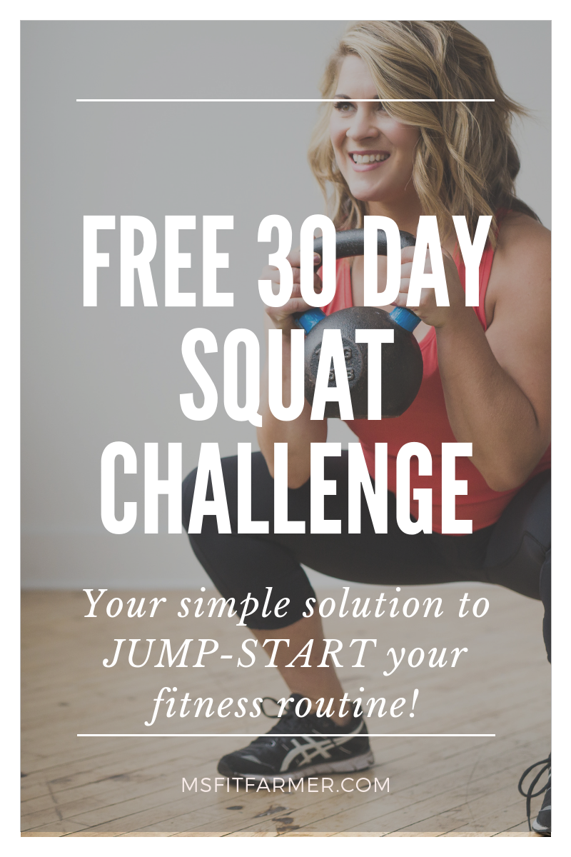 Get Started: 28-Day Squat Challenge (FREE!)