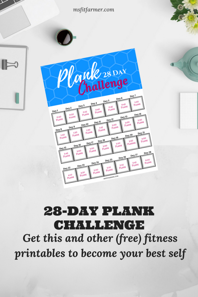 Plank Challenge | Abs | Core Exercises | Best Ab Exercises for Women |  Free Fitness Challenge | Fitness Journey | Easy Weight Loss | Fat Loss | Fast Weight Loss | Healthy Habits | Support and Inspiration | More Health, Fitness and Wellness at https://msfitfarmer.com