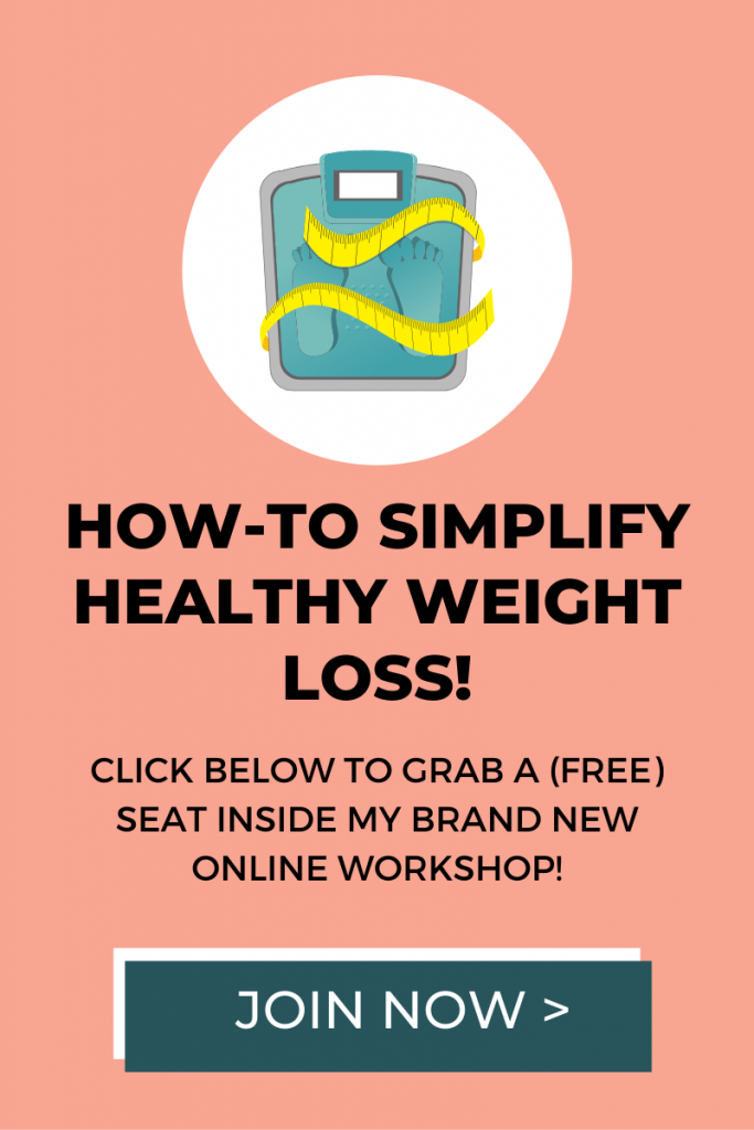 A Free Workshop to Help You Simplify Weight Loss
