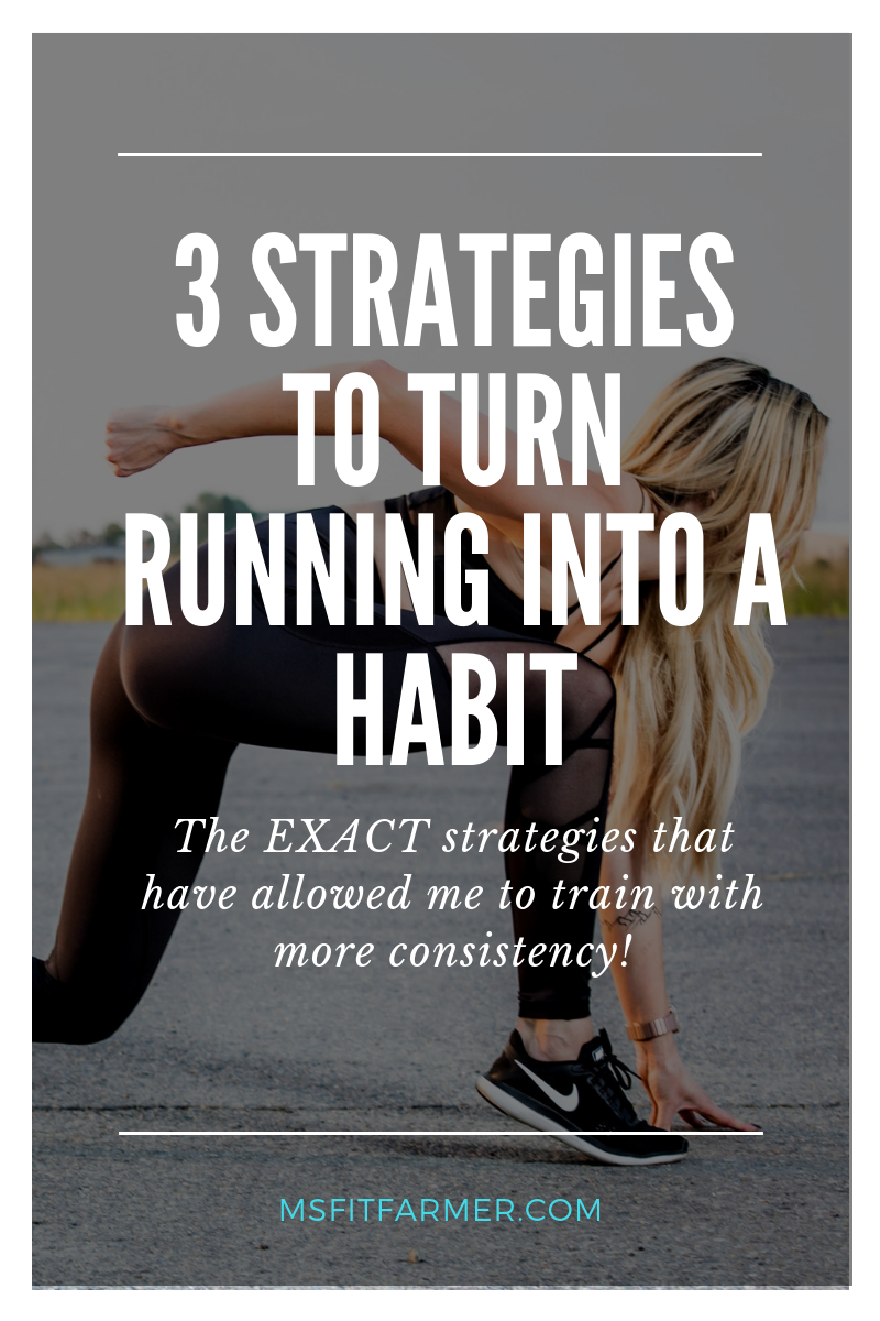 Is it your New Year\'s Resolution to become more consistent with your running routine? In this blog post we\'ll discuss 3 Strategies to turn your casual cardio into a healthy habit! Whether you\'re just beginning your running journey or you\'re a seasoned pro, this article will help you run more and actually enjoy it! Use running to help you lose weight, build endurance, and improve your overall health!