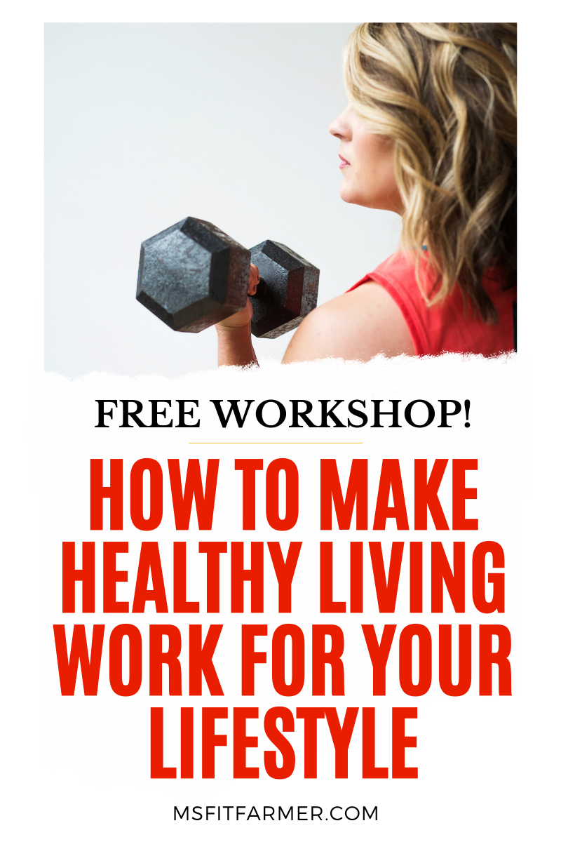 How to Make Healthy Living Work for Your Lifestyle! What to do when you\'re not reaching your fitness goal. Inside this free online workshiop you\'ll learn how to enjoy a simple, straight-forward solution to weight loss that not only works but that allows you to keep the weight off for good! Click to reserve your seat now!