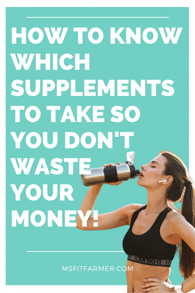 building the perfect supplement plan for women