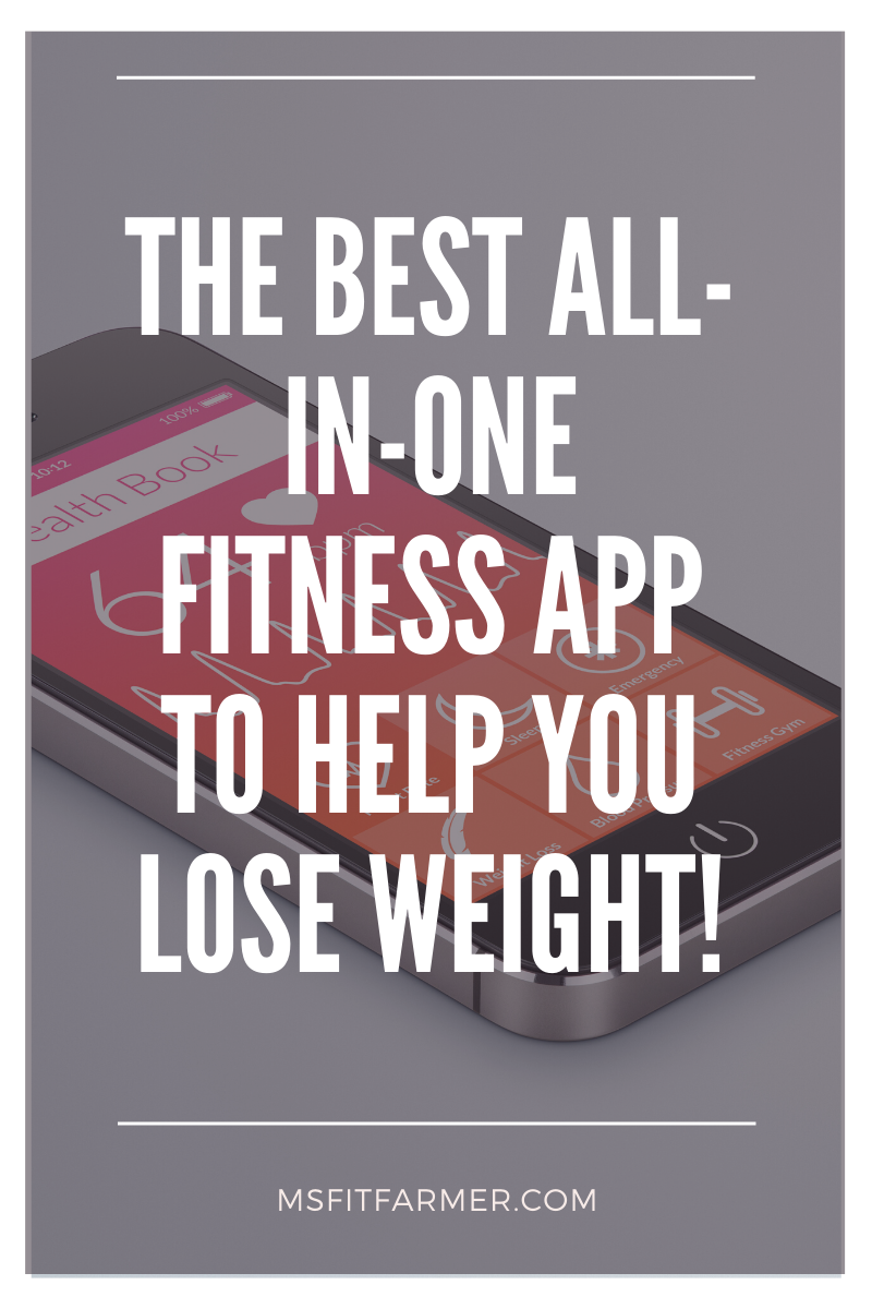 The BEST All-In-One Fitness App to Help You Lose Weight!