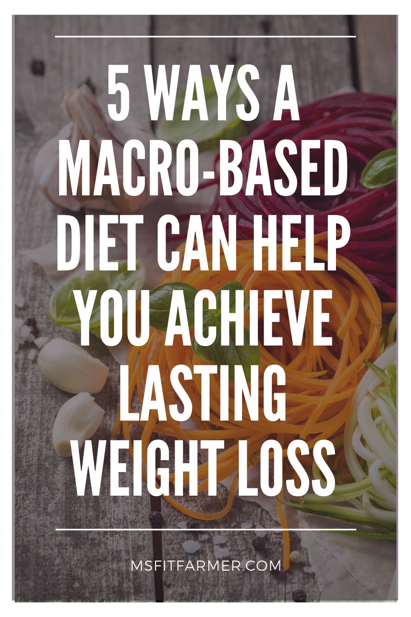 5 Ways a Macro-Based Diet Can Help You Achieve Lasting Weight Loss