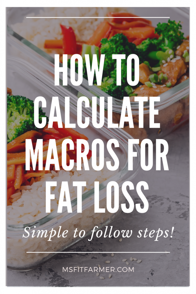 How To Calculate Macros for Fat Loss