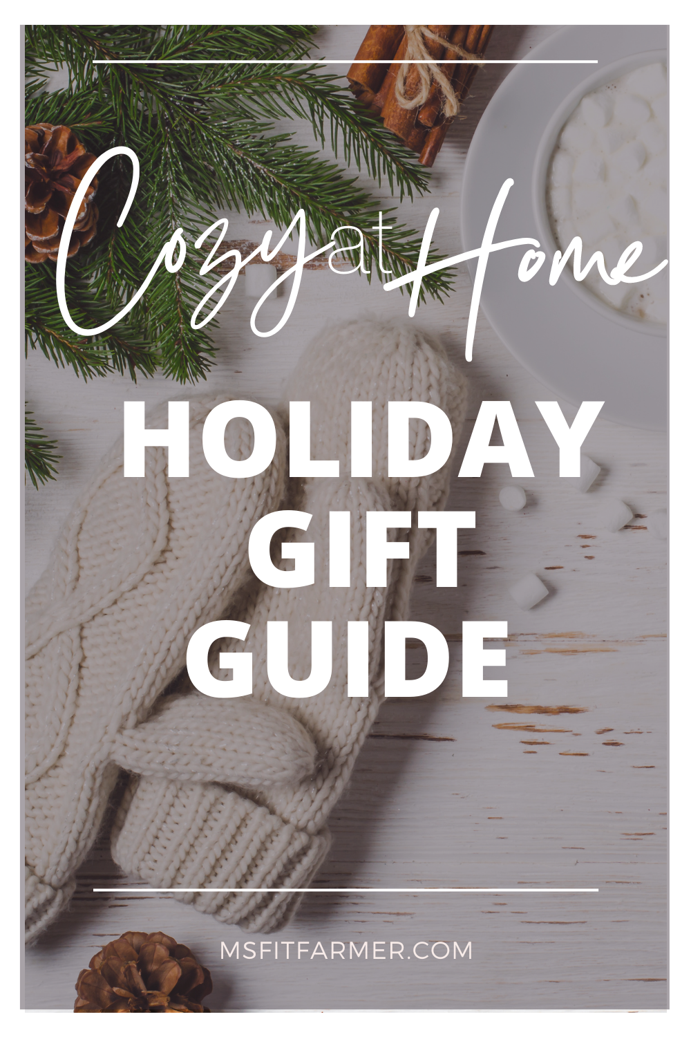 Cozy At Home Holiday Gift Guide